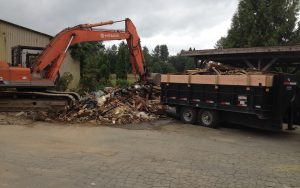 house demo clean-up near Maple Ridge.
