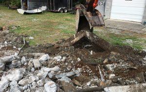 concrete demo clean-up