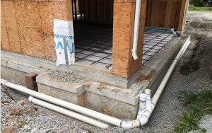 new house build drainage in the Greater Vancouver area