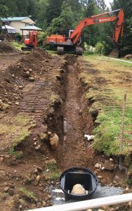 septic trench