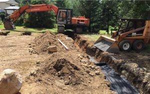 septic build final stage