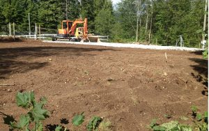 site prep near Maple Ridge