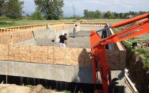Fraser Valley new home build
