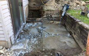 flood in basement restoration